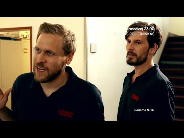 Naujas veiksmo serialas BLOGAS POLICININKAS pirmadieniais 23.00 per TV3