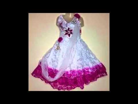 3d3d6f5c232a Baby Girl Long Frocks - YouTube