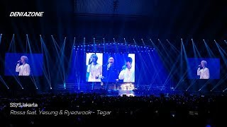 [190615] [w/ LYRICS] SS7SJKT Rossa feat. Super Junior Yesung & Ryeowook - TEGAR & PUDAR
