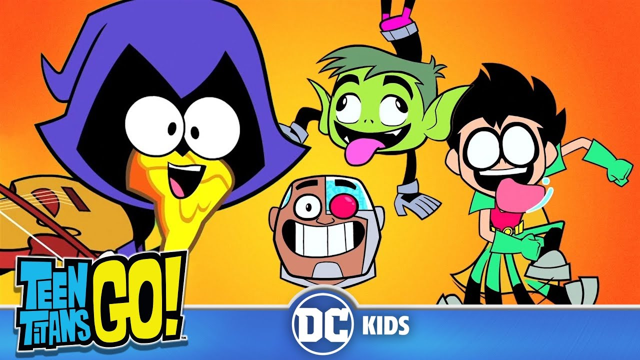 Teen Titans Go! Россия | Здоровые привычки | DC Kids