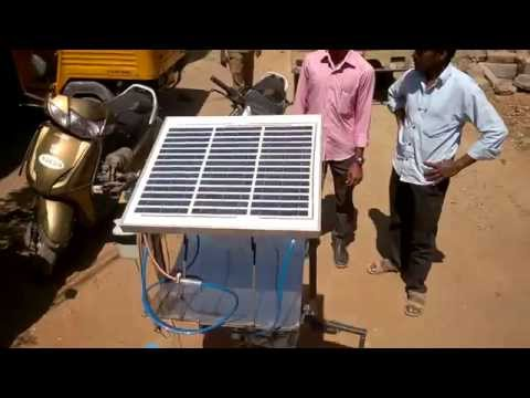 Thermo electric hybrid dual axis solar tracking mechanical ...