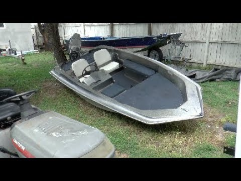 Working On The $250 Bass Boat Part: 5
