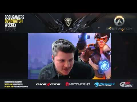 IDDQD vs REUNITED ► GOSUGAMERS OVERWATCH WEEKLY EUROPE #5 [F