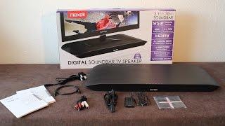 Maxell: Soundbar TV MXSB-252 - Review & Soundtest