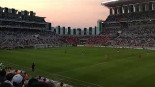 Estadio Agustín Coruco Díaz LLENO IMPRESIONATE AMBIENTE Zacatepec vs Toluca Copa MX 2018