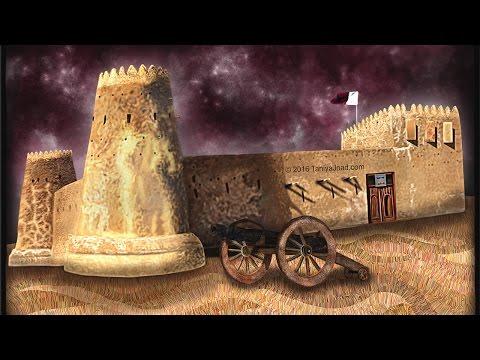 Zubarah Fort ,Qatar - Speed Paint with Corel Painter