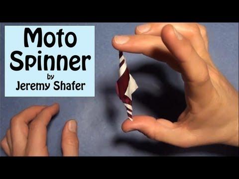 Origami Moto Spinner Designed by Jeremy Shafer
