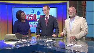 Charlie James on News 2 just back from San Juan.