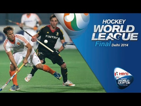 Netherlands vs Belgium - Men's Hero Hockey World League Final India Pool B [13/1/2014]