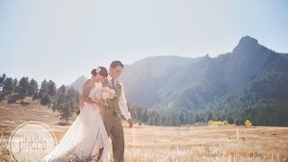 Boulder, CO Wedding Highlights - Tiana & Kevin
