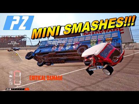 Mini Smashes In Demolition Derby | 💥 Wreckfest Game 💥 |