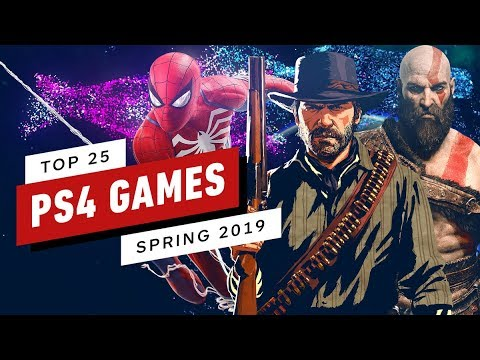 Top 25 Playstation 4 Games Spring 2019 Update Youtube