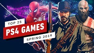 Top 25 Playstation 4 Games (spring 2019 Update)