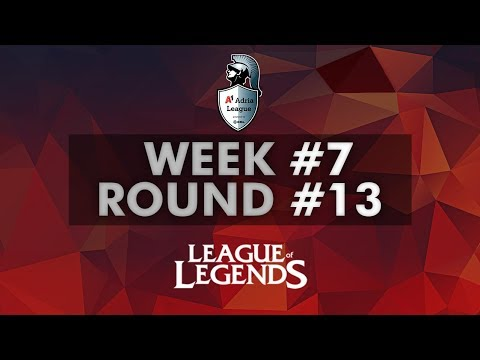 A1 Adria League  LoL Group Stage  Week #7  Round 13