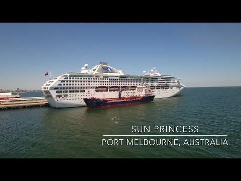 Our World by Drone in 4K - Sun Princess Cruise Ship