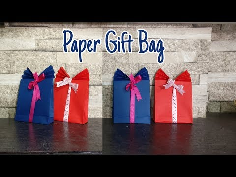 Paper Gift Bag Making | DIY | Gift Wrapping Ideas | Gift Box Ideas