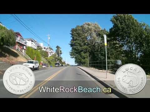 Cruising White Rock Beach, BC CANADA in HD -June 20 2015