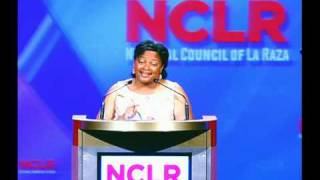 Lori Montenegro, National Correspondent for Telemundo, at the NCLR Awards Gala
