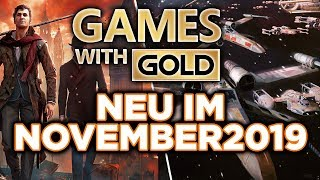 Games With Gold - Neu Im November 2019