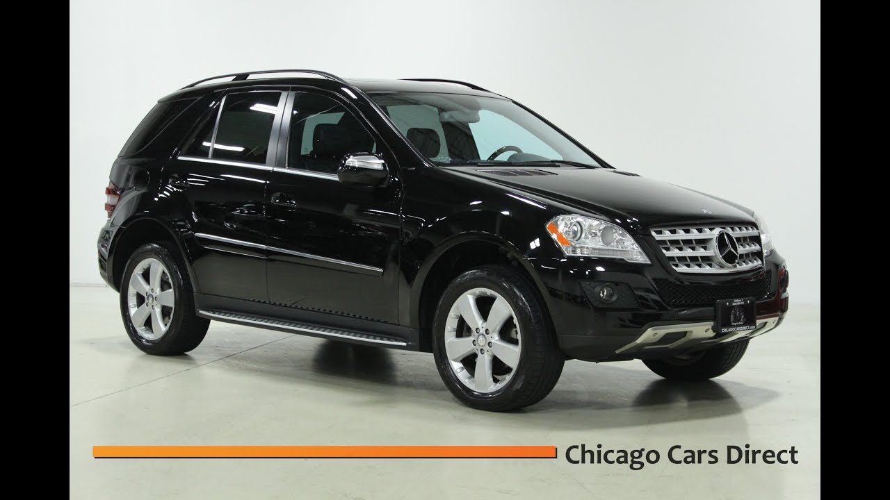 Chicago cars direct presents this 2010 mercedes benz ml350 for Mercedes benz ml350 4matic 2010