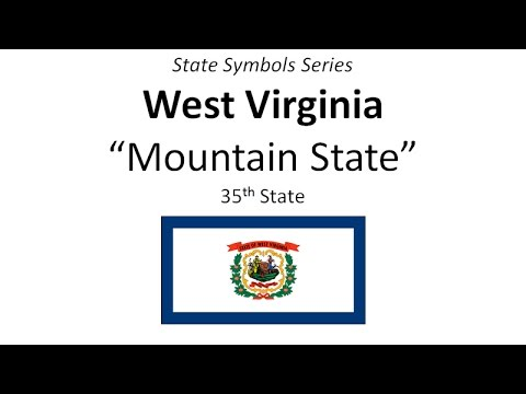 State Symbols Series West Virginia Youtube