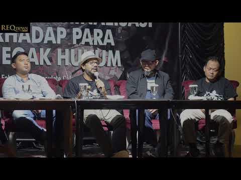 Diskusi Teror dan Kriminalisasi Terhadap Para Penegak Hukum