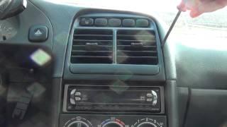 Снятие решётки воздуховода ВАЗ 2110(Снятие решётки воздуховода на панели нового образца ВАЗ 2110-12., 2012-08-11T20:03:06.000Z)