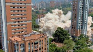 Derrumban el fortín de Pablo Escobar en Medellín