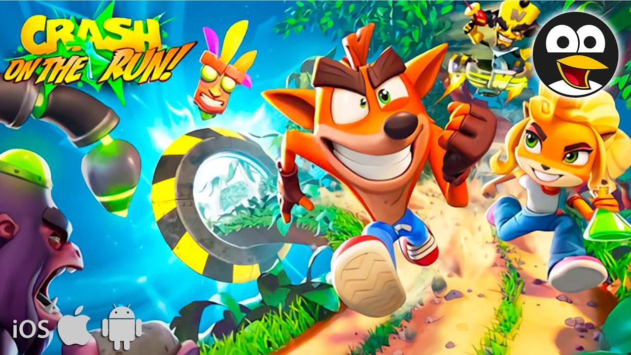 Crash Bandicoot: On the Run! en Español - Vídeos de Juegos para iOS y Android
