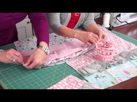 Jina's Holiday Hand Towel Tutorial   Riley Blake Designs