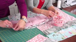 Jina's Holiday Hand Towel Tutorial | Riley Blake Designs