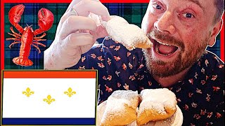 Scottish Guy Tries NEW ORLEANS FOOD For The First Time