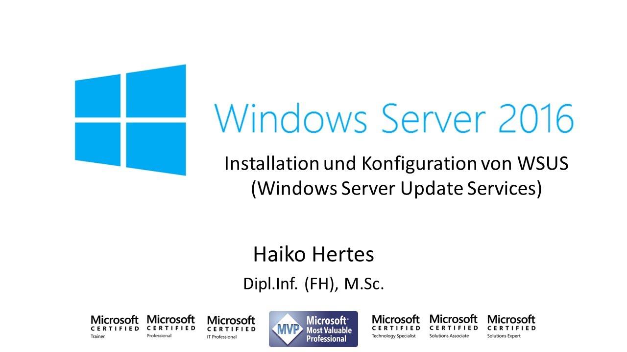 Windows server 2016 installation und konfiguration von wsus windows server 2016 installation und konfiguration von wsus windows server update service xflitez Images