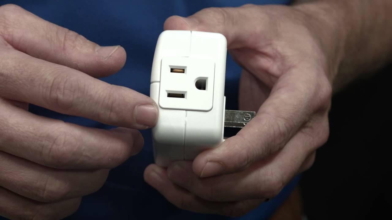 12719: GE Z-Wave Plug-in Smart Switch - YouTube