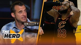 Doug Gottlieb questions whether the Cavs can bounce back from Game 1 loss | NBA | THE HERD thumbnail