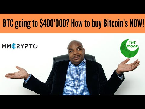 Bitcoin Going To $400'000? How To Buy Bitcoin's NOW!