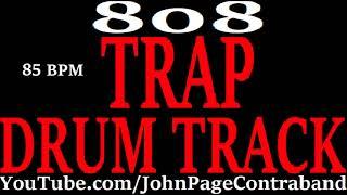Trap Drum Track Heavy 808 Bass Hip Hop Rap