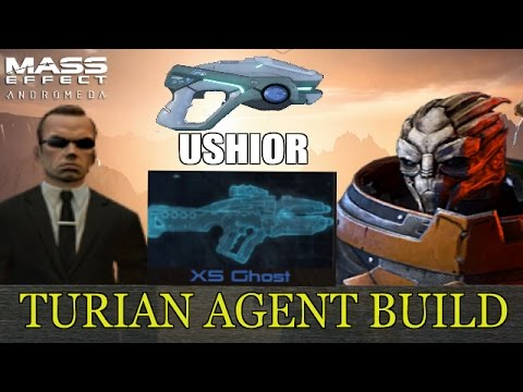 Mass Effect Andromeda Build Guide-Turian Agent-Geth Infiltrator Hybrid