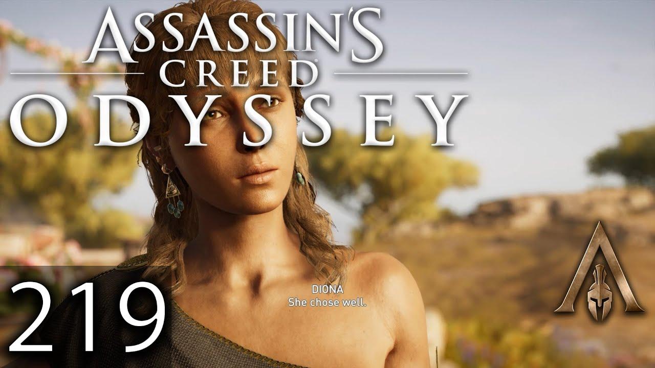 Ac Odyssey (wer ist die richtige Diona) - YouTube