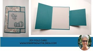 Creative Fold With Come To Gather Paper