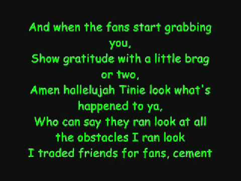 Tinie Tempah feat Ellie Goulding - Wonderman (Lyrics)