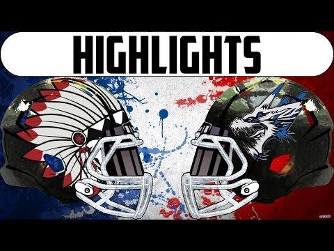 highlights D4 2016 : Loups Blancs - Pendragons Week 1