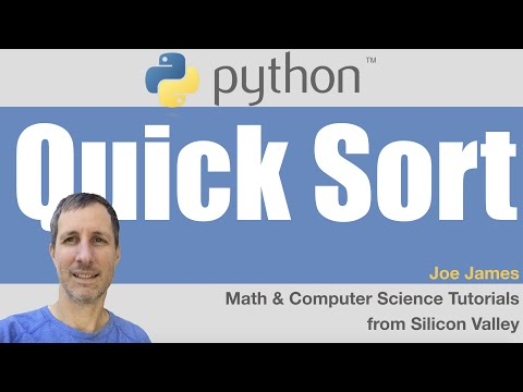 Python: QuickSort algorithm