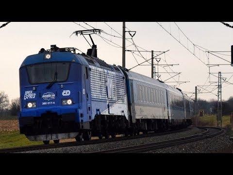 KOMETA EXPRES: ČD 380.017 + 15 Vozů Jako Ex 11774 - 22.12.2017