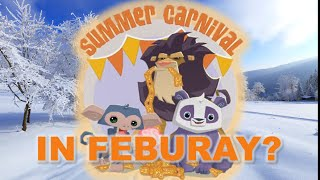 SUMMER CARNIVAL IN WINTER? (Animal Jam Glitches)