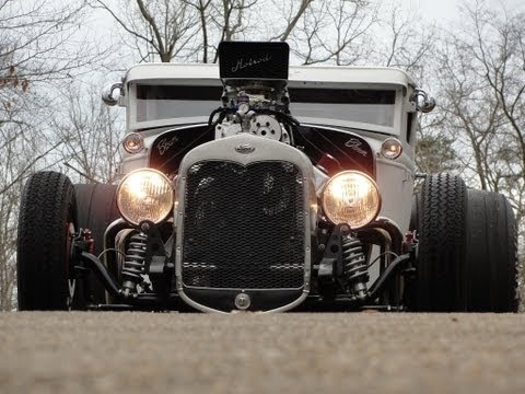 COUPEZILLA 1000+ HORSEPOWER BLOWN HOT RAT ROD PRO STREET INSANE BURNOUTS video # 6