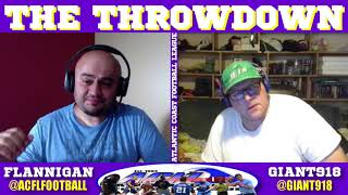 The Throwdown 5/24/18 | ACFL Spring 2018 | Flag Football Touch Football