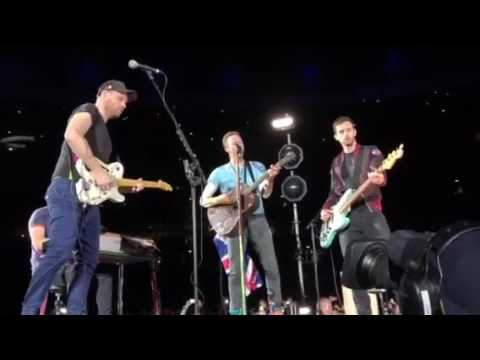 Coldplay- In My Place (Live from Wembley) 15.06.16