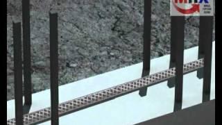 Гидроизоляция. Пенебар / Penebar применение ( www.MPHural.ru )(Проникающая гидроизоляция является уникальной системой защиты бетона от воды и агрессивных сред. Гидроизо..., 2011-01-25T07:06:07.000Z)