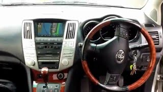 For Sale 2004 Toyota Harrier 4WD Buy used and new cars in Tokyo Japan